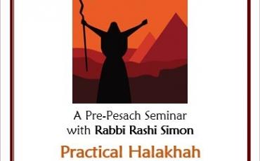 Pesach Seminar: Let My People Know!