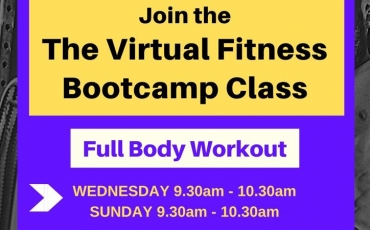 Virtual Fitness Bootcamp via Zoom